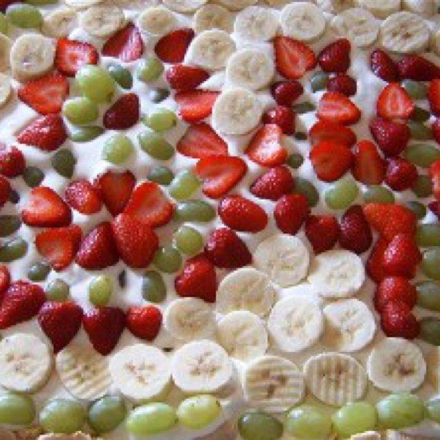 Den store frugt kage