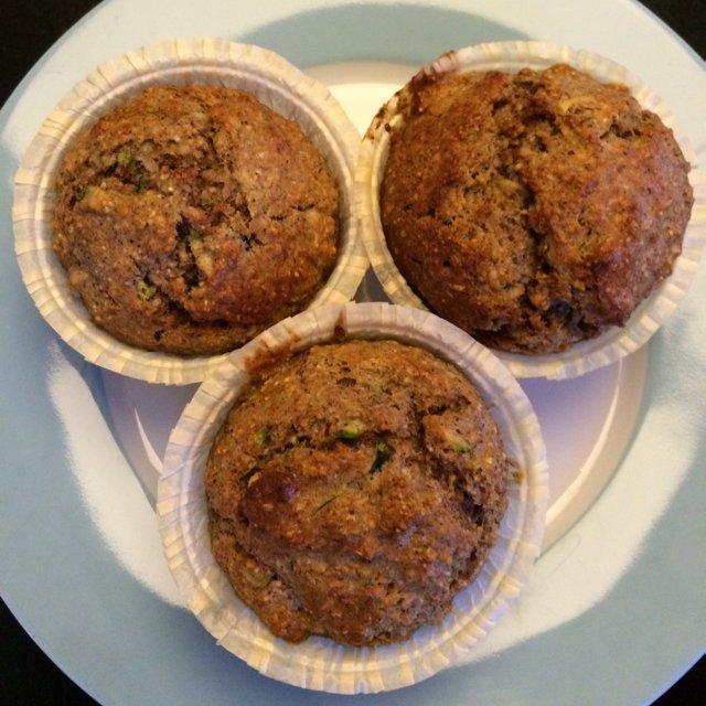 Banan squash muffins