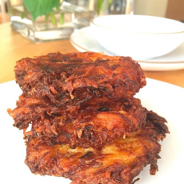 Cinnamon Smoked Paprika Latkes