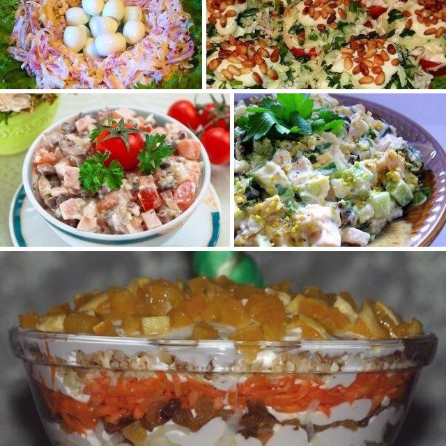 5 салатов